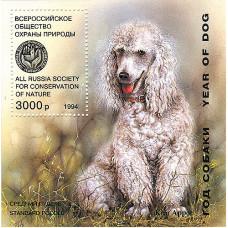 Исаков А. 1994. Год собаки. Средний пудель. Блок