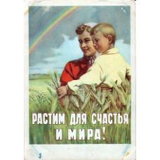 Иванов К., Брискин В. 1950-е. Растим для счастья и мира