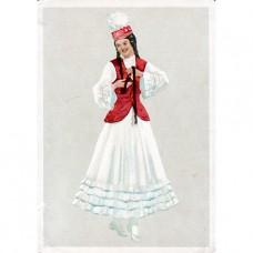 1957. Казахский танец Камажай