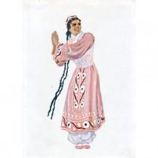 1957. Таджикский танец Занг