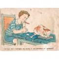 Вальк Г. 1940-е. Целый час смотрю на кота.