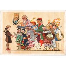Гольц Н. 1955. Герои детских книг